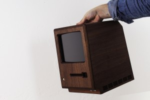 1984 Apple Macintosh Replica From Wood and Gold 5