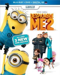 Despicable Me 2 (Blu-ray + DVD + Digital HD UltraViolet) (2013)