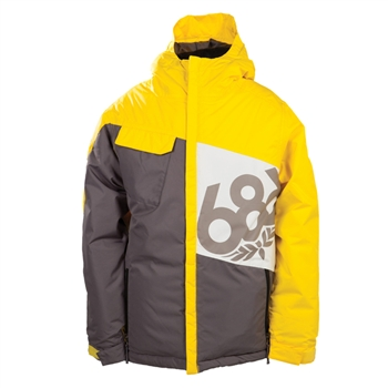 686 Boy's Mannual Iconic Insulated Snowboard Jacket