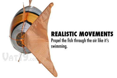 Air Swimmers Remote Control Flying Fish 4