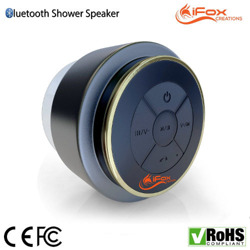 Amazing Discount On Bluetooth Shower Speaker - Waterproof & Dustproof 1