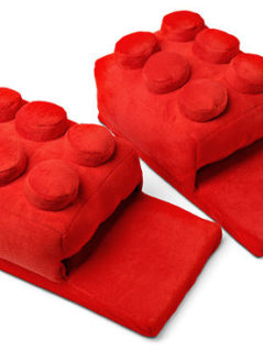 Amazing Discount On Building Brick Slippers 1