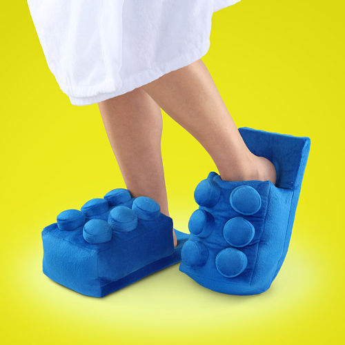 Amazing Discount On Building Brick Slippers 2