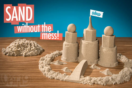 Amazing, No-mess Indoor Kinetic Play Sand 3