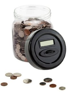 Automatic Digital Money Counting Jar 2
