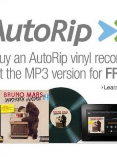 Buy a CD or Vinyl Record Get MP3 Version FREE with AutoRip