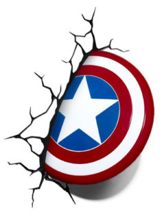 Captain America Shield 3D Deco Light 1