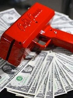 Cash Cannon the Gun that Rain Money