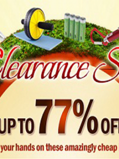 Clearance Sale! Up to 77 percent off on amazingly cheap items!