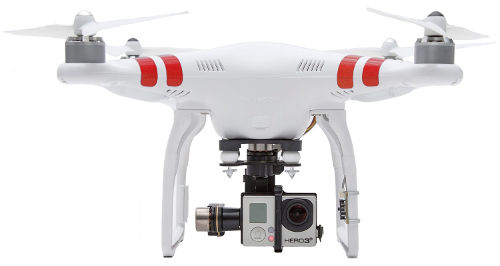 DJI Phantom 2 Quadcopter With Zenmuse H3-3D 3-Axis Gimbal 1