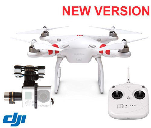 DJI Phantom 2 Quadcopter With Zenmuse H3-3D 3-Axis Gimbal 2