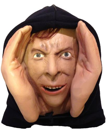 Deluxe-Vinyl Halloween Prank Novelty Prop Mask Peeping Tom 2