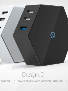 Design.D Charger & Wifi Box