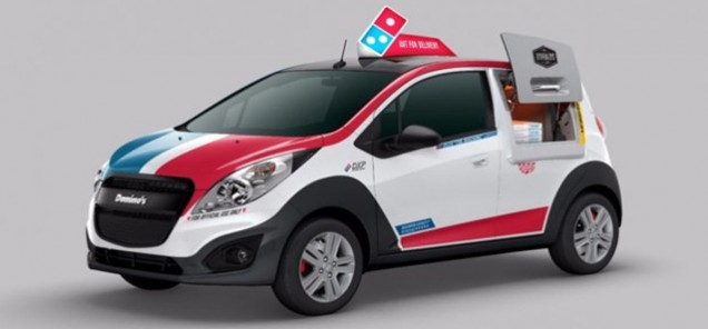 Domino's Delivery Van Has Built-In Oven