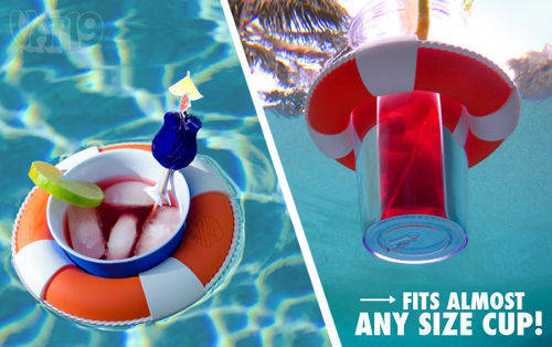 Drink Preserver Floating Cup Holder Agazoo