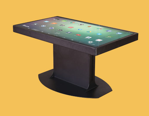 Duet Multitouch Coffee Tables Agazoo - Multitouch coffee table