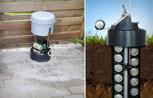 Earth Cooler - An Underground Beer Cooler 1
