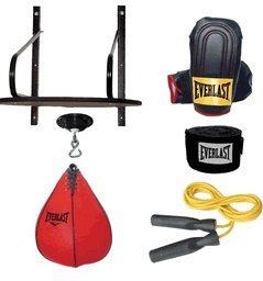 Everlast 6 Piece Speed Bag Set - Boxing Bags Speed