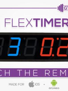 Flex Timer - Training Wall Clock 1