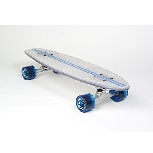 Flexdex Blue Light up LED Transparent 29in Skateboard 4