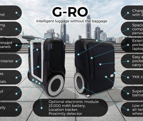 G-RO Revolutionary Luggage 3
