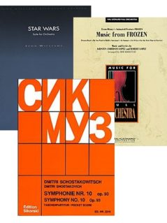 Get 20 percent off on Orchestra music sale!