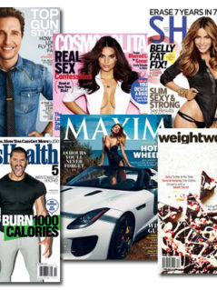 Get 20 percent off on a great variety of Magazines