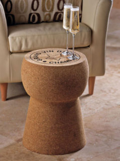 Giant Champagne Cork Stool-Table