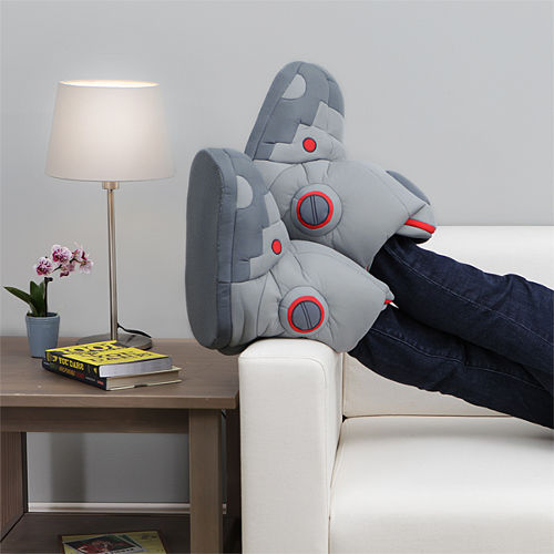 Giant Robot Slippers With Sound 2