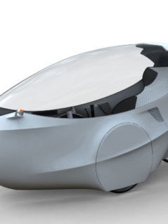 GinzVelo Hybrid Vehicle 4
