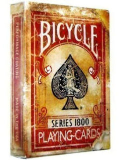 Great Discount On Bicycle 1800 Vintage Series Playing Cards 1