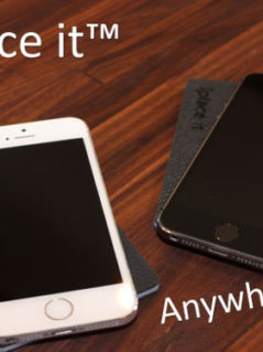 Iplace it - The Phone Holding RFID Blocking Card Holder 1