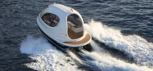 Jet Capsule Mini Luxury Yacht 1