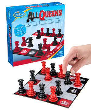 Only Queens Chess Game