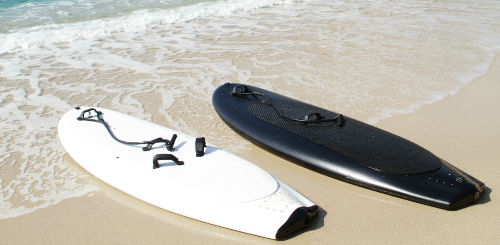 Lampuga Electric Power Surfboard 1