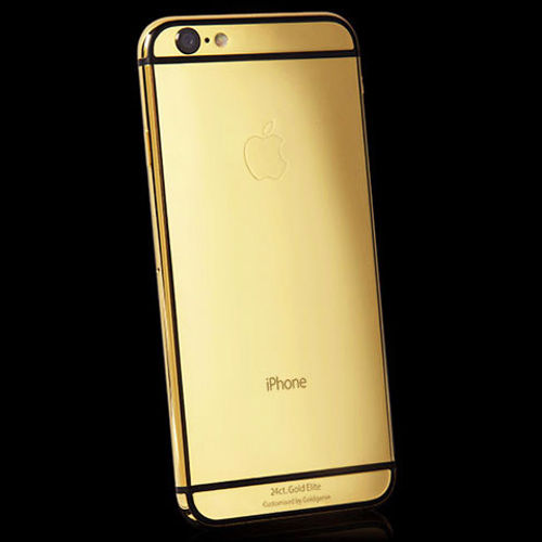 low priced 810e4 1f56d Luxurious Gold iPhone 6 Collection