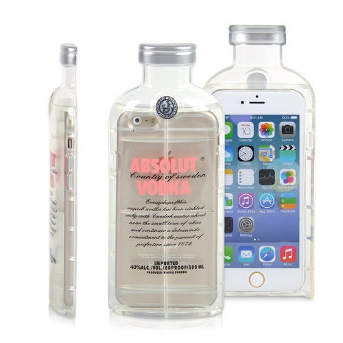 Luxury Fashion Vodka Bottle Alcohol iPhone 5s Case