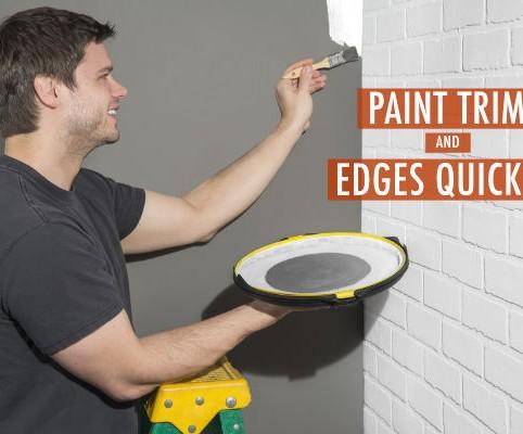 Mess-reducing anti-gravity painting tool 2