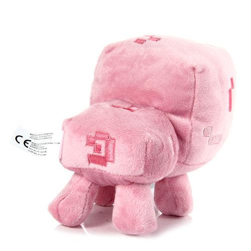 Minecraft Baby Pig Plush Animal Toy Agazoo