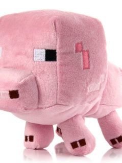Minecraft Baby Pig Plush Animal Toy