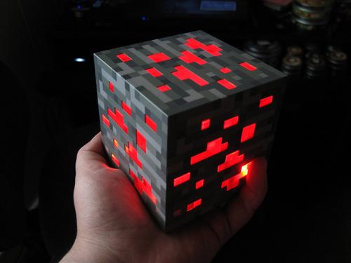Minecraft Light-Up Redstone Ore 2