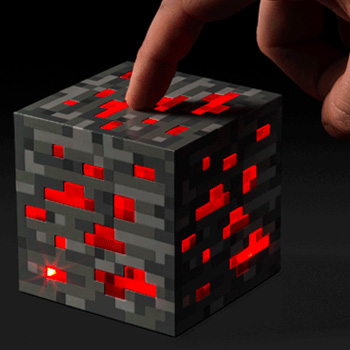 Minecraft Light-Up Redstone Ore 3