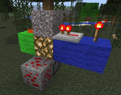 Minecraft Light-Up Redstone Ore 4