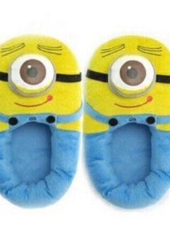 Minion Soft Plush Adult Slippers