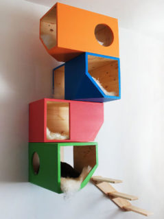 Modular Cat House 1
