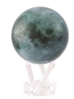 Moon Spinning Globe