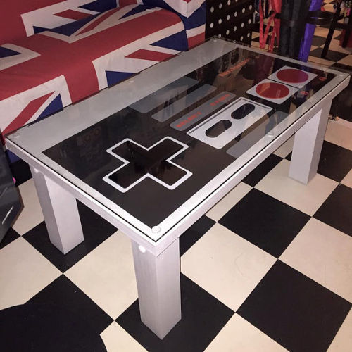 Nintendo Control Pad Coffee Table Agazoo