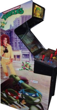 Ninja Turtles 4 Player Arcade Game 2