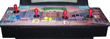 Ninja Turtles 4 Player Arcade Game 4