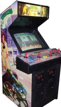 Ninja Turtles 4 Player Arcade Game